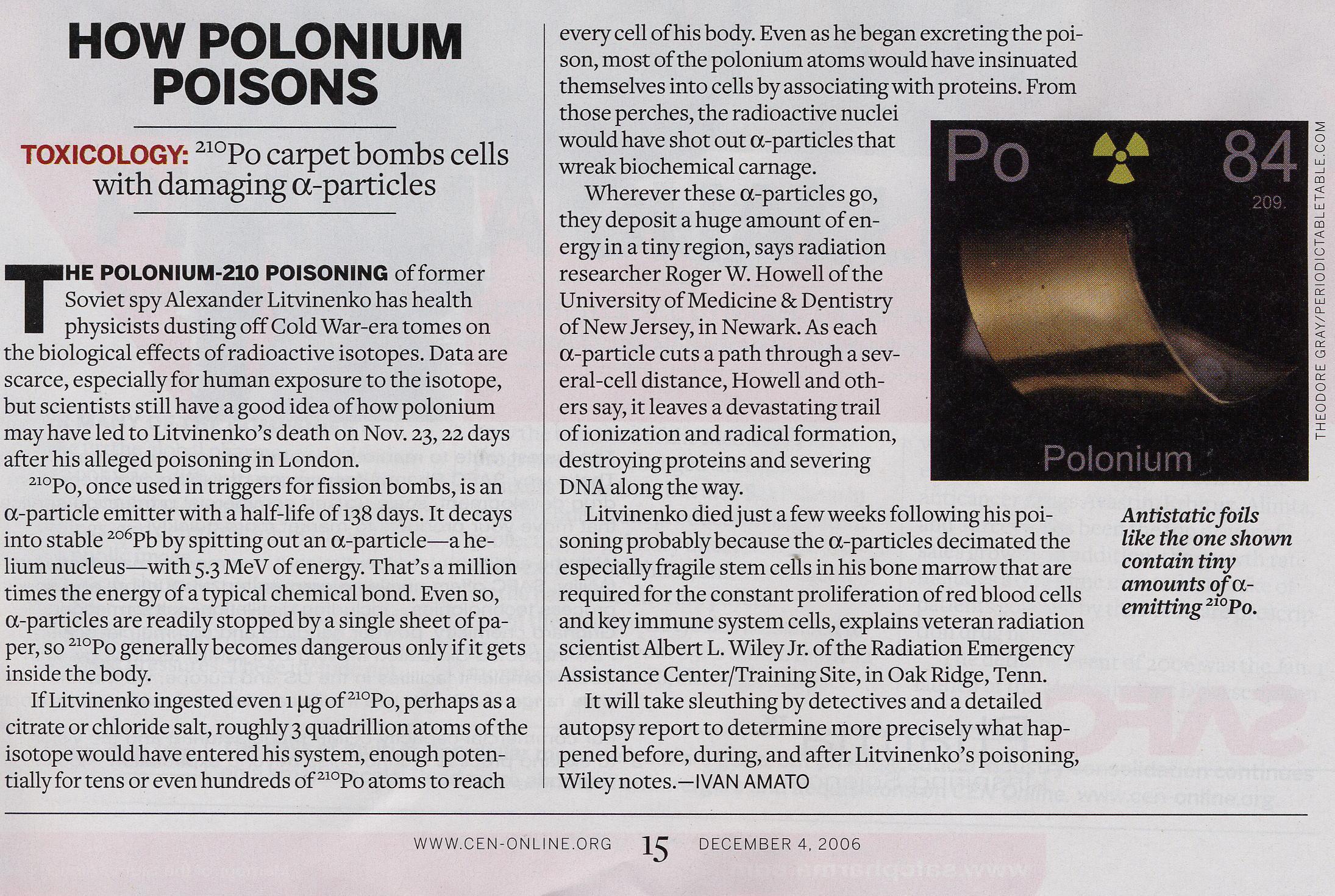 polonium 210 online